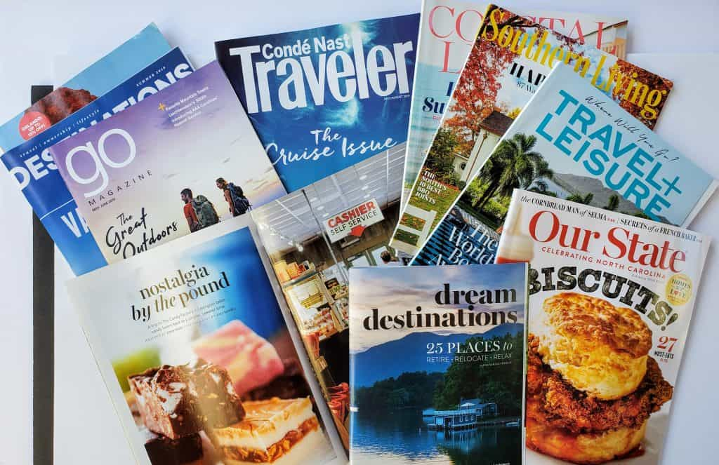 Travel Magazines Research