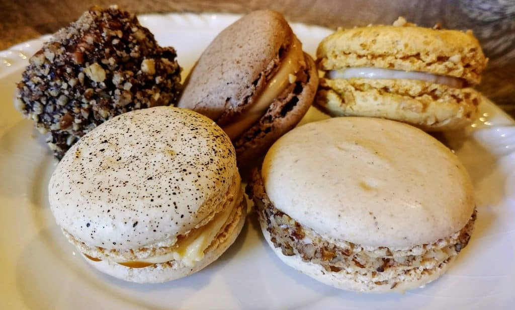 French macarons at the Paris Market Cafe