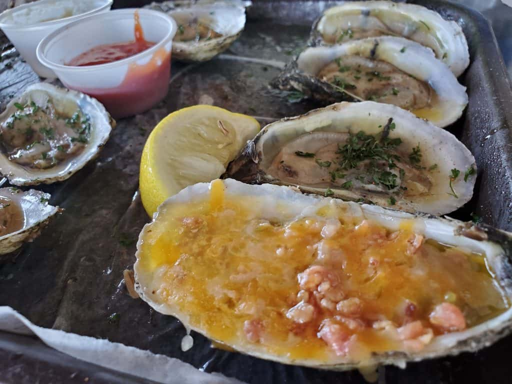 Oysters Up the Creek