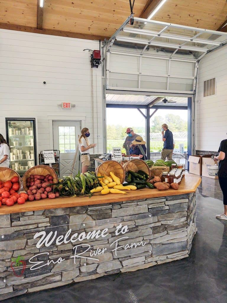 Vegetables Farmers Market at Eno River Farm | Me and My Traveling Hat | Free Content on Our Blog