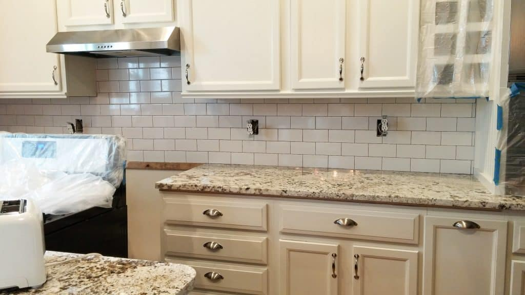 Kitchen Renovation Subway Classic Subway Tiles | Me and My Traveling Hat | FREE Content on Blog